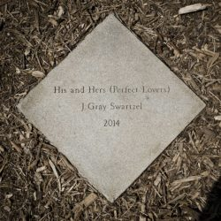 HIS & HERS (PERFECT LOVERS) Detail 1  2014  Granite  From an edition of 1  24 x 24 inches